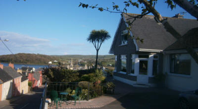 View from Panorama B&B Timoleague Cork Ireland